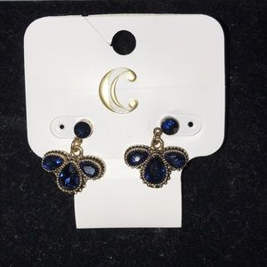 Charming Charlie Jewelry - Blue Dangle Earring